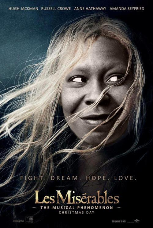 Morning Funnies: Bet you didn't know Whoopi Goldberg had a cameo in Les Miz!