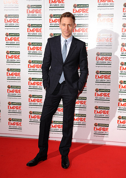 thefilmology:  Tom Hiddleson at Jameson Empire Awards 2013