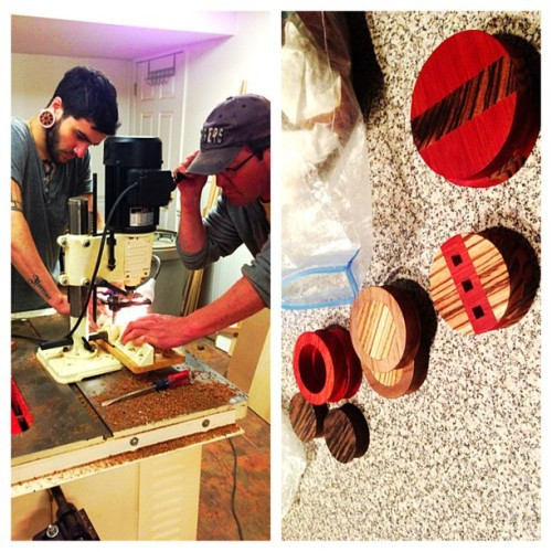 Hard at work here at @capitall_handcraftedplugs central! (at Sparta)