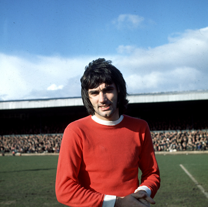George Best, Manchester United 1970. Source: Walla!
