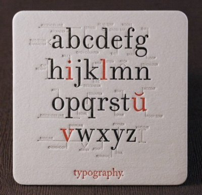 themojishop:  i love typography coaster | Catherine Lorenzo Realce, visualchemist