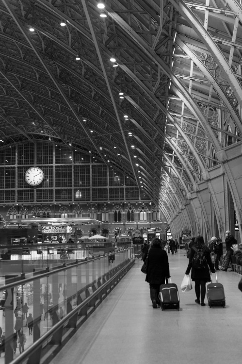 St. Pancras. London, March 2013.