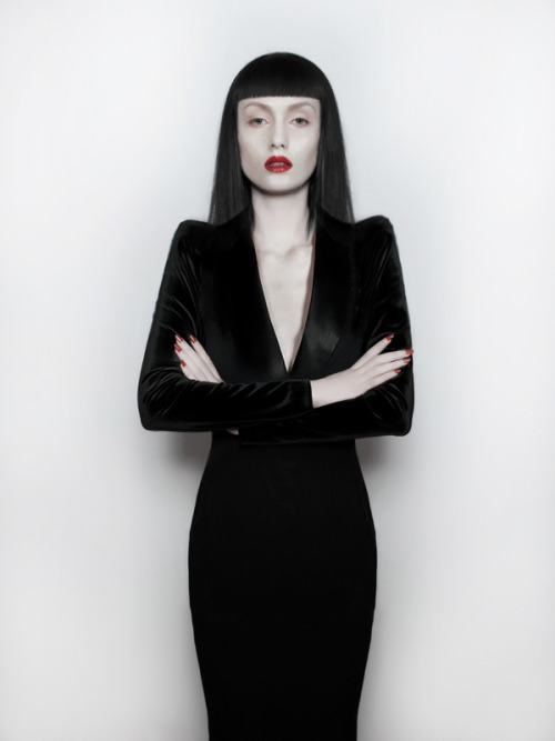 "annapisar:  ""Came out of the darkness"" / Anna Pisar For my upcoming lookbook."