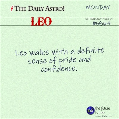 Leo 5864: Visit The Daily Astro for more facts about Leo.