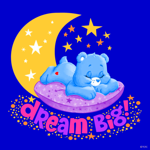 #Easter#psychedelic#pastel#blue#care bears