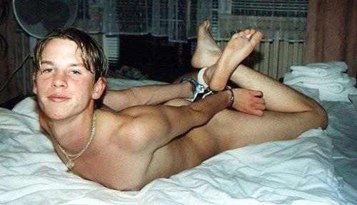 Gay twink bdsm bondage