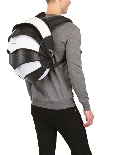 pangolinbag:  The #Pangolin Backpack B&W Limited Edition Only Available at http://www.luisaviaroma.com/