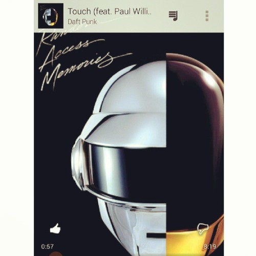Morning jams #music #DaftPunk