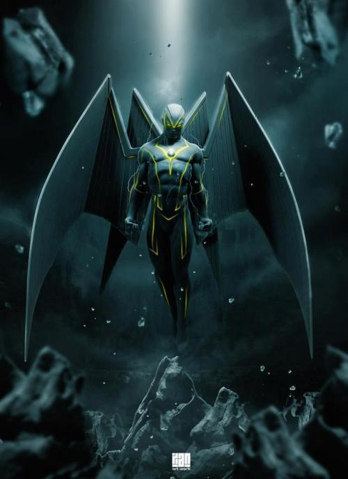 astonishingx:  Archangel by Xan