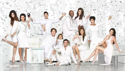 The Kardashian/Jenner 2012 Christmas Card