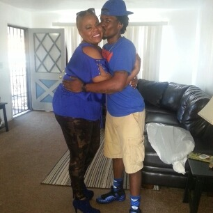 Me and my mama in law