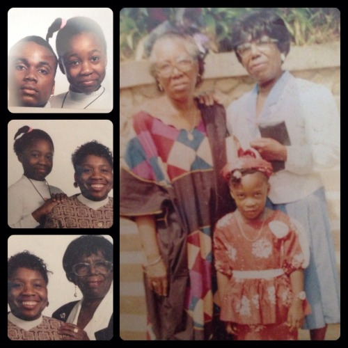 As Black History Month 2013 draws to a close I wanted to share a little of my own 'her-story'…..  A curious nature was instilled from early on by the people in this picture. My aunt was a university lecturer in Nigeria for years and at 5 years old that just seemed like the best thing in the world. I walked around her home and saw what seemed like trillions of books!!  After I finished bawling at the fact I had to wear these strange clothes, and how tight my hair was pulled, I went on a tour of this HUGE 'school'. I promised myself that one day I would go somewhere like this.  My Grandmother came from Guyana to the UK in 1964 and inspired us as a f