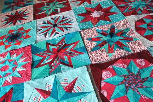 block layouts finished by wombatquilts on Flickr.
