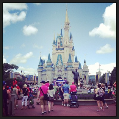 Magic Kingdom #thehappiestplaceonearth #disney (at Magic Kingdom® Park)