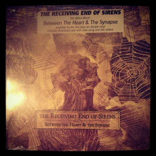 Took forever but finally arrived! #vinyl #music #receivingendofsirens #awesome #betweentheheartandthesynapse