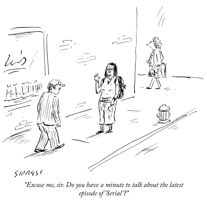 "newyorker: "" Today's daily cartoon by David Sipress. "" This is my whole entire life right now."
