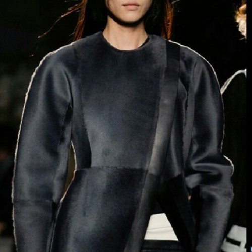 #proenzaschouler #bestcoatever #fall2013 #NYC #fashionweek #NYFW #love