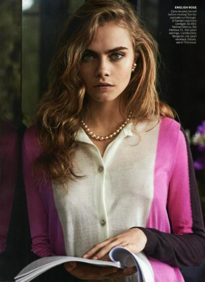 averagedope:  aclockworkpink:  Cara Delevingne, Vogue US, May 2013  UGH I LOVE CARA SHES A SUPERHUMAN