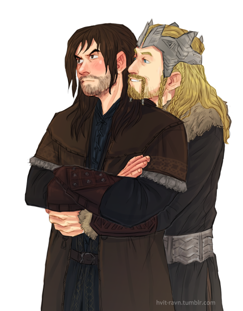 Anonymous asked: Could there be a situation where King Fili is trying to console an upset and jealous Kili?