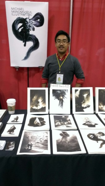 Day 2 at MoCCA Fest 2013 ! Come by and say hi at table B43!