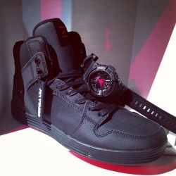 #ItsAboutTime #FirstLook G-Shock x @SupraFootwear (at freshnessmag.com)