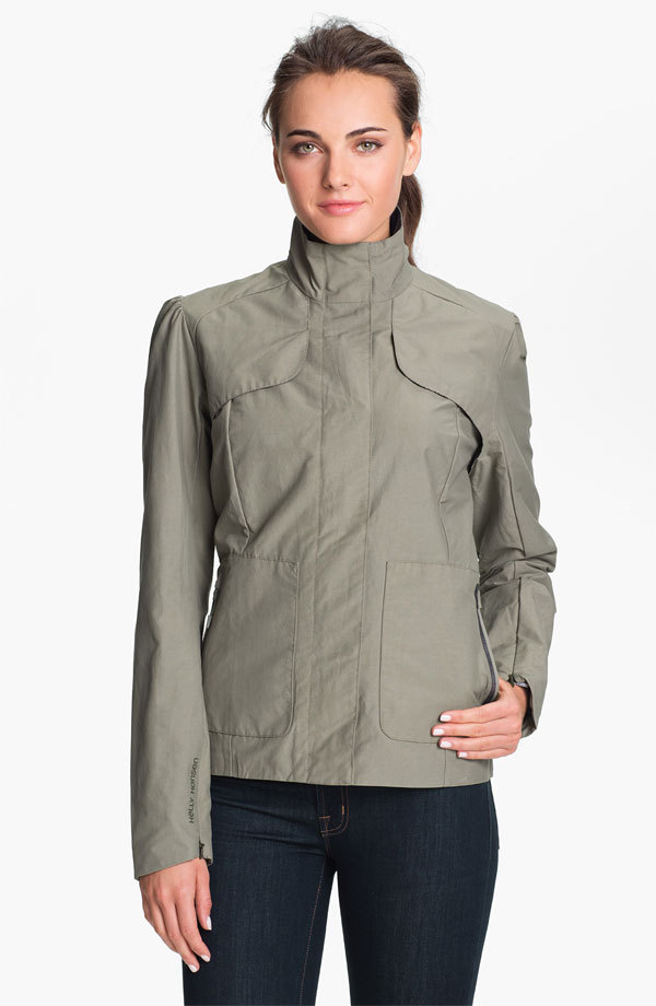 Getting more invested in this Helly Hansen jacket ($89.40, from $149) the longer I look at it. I'd wear it this fall with black skinny pants and stiletto ankle boots. Or I could dress it down with slim boyfriend jeans and flats.
