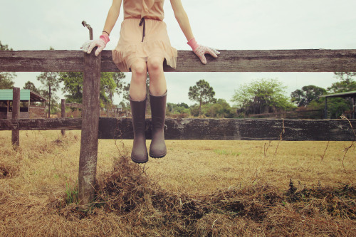 Won't you take her to the dance?  reneelouiseanderson:  On the farm