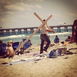 Happy #goodfriday from the beach! #florida XD