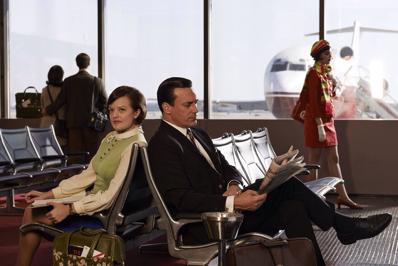 madison-avenue1964:  Mad Men season 7 begins on the 13th April.