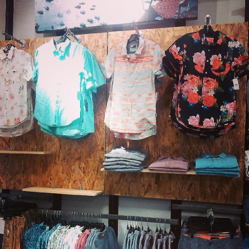 Spotted: @justinliv's Modern Amusement floral shirt at @pacsun :)
