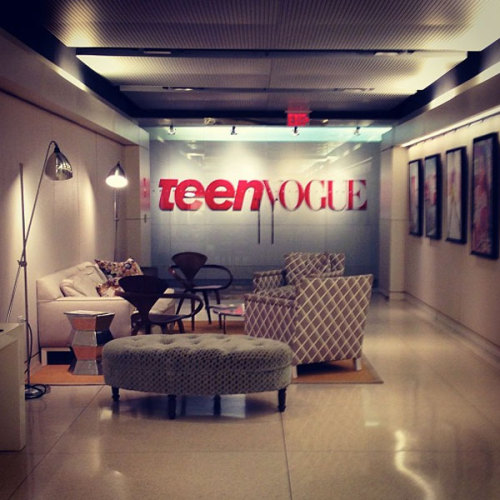 Good night, Teen Vogue office. See you Monday.