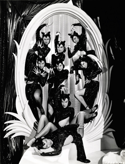 vintagegal:  The Panther Dancers in Ziegfeld Follies (1945) See more here