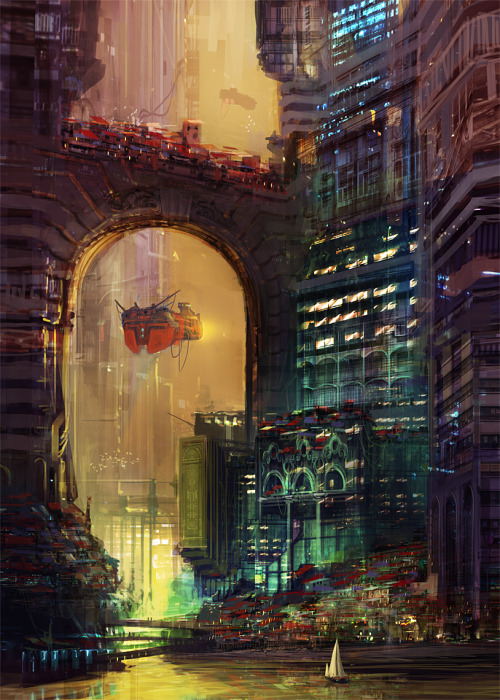 defenestrador:  The Arch, by Maciej Rebisz.