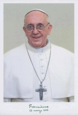 the-last-crusade:  Official portrait of Pope Francis