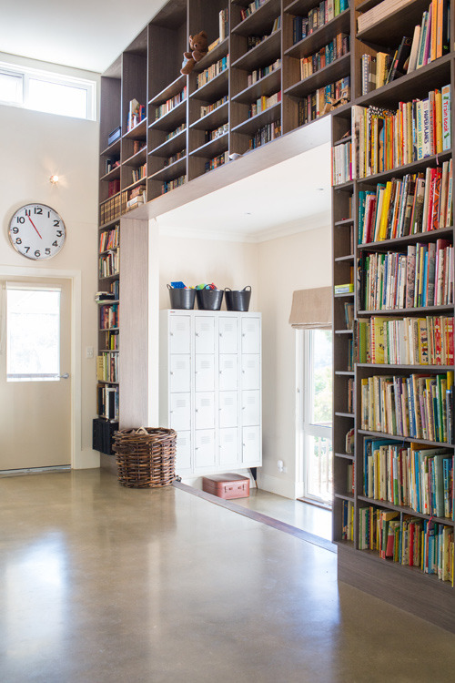 Source: Design*Sponge Awesome home library! All that's missing is a ladder!