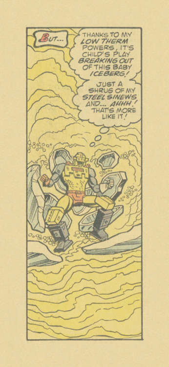 ISOLATED COMIC BOOK PANEL #267title: MANTECH #1- P17:1artists: DICK AYERS, CHIC STONEyear: 1984