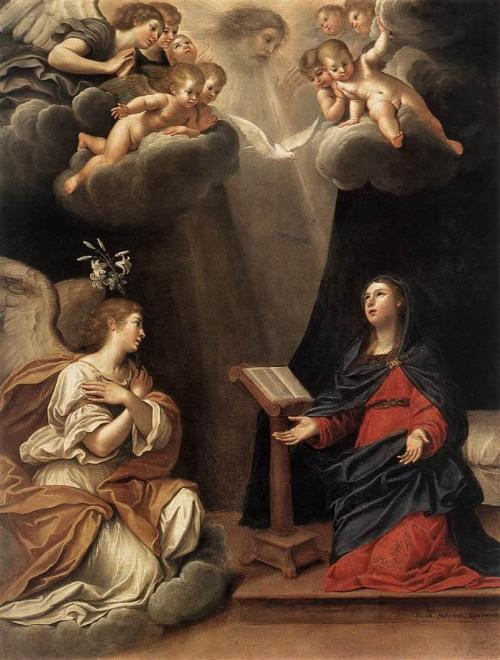 phassa:  Albani, Francesco - The Annunciation