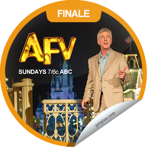 I just unlocked the AFV: Grand Prize Spectacular sticker on GetGlue                      1998 others have also unlocked the AFV: Grand Prize Spectacular sticker on GetGlue.com                  You're watching a new episode of America's Funniest Home Videos! Congrats you just earned the 'Grand Prize Spectacular' sticker! Thanks for watching AFV tonight! Keep tuning in Sunday nights at 7/6c on ABC. Share this one proudly. It's from our friends at America's Funniest Home Videos.