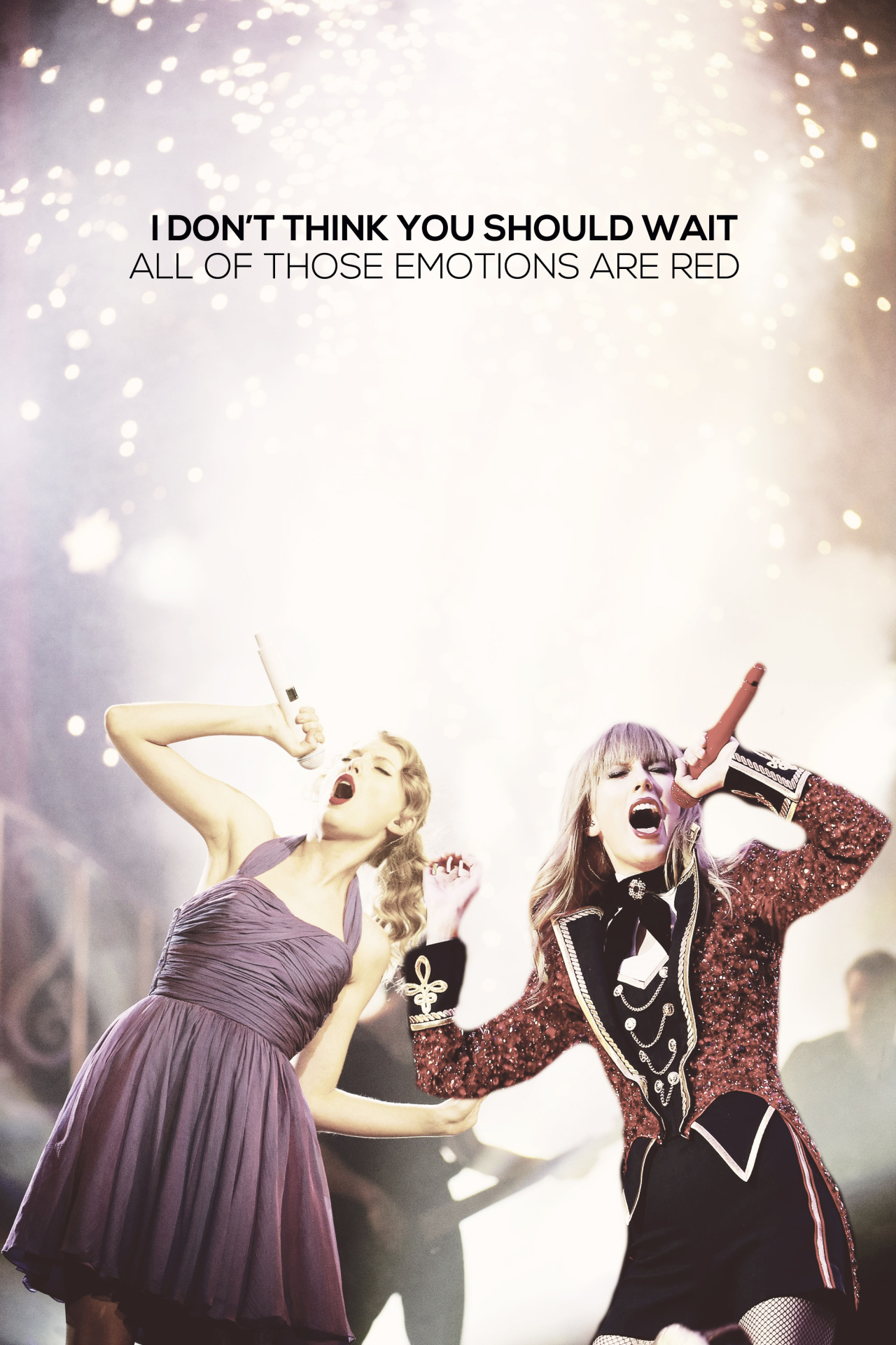 speak now + red