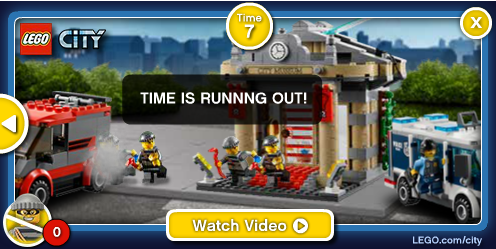 Vertical:  Toys & Games Manufacturers Advertiser:  Lego  Campaign: LEGO City Display FH 2013  Features: (Expandable) Killer Creative Interactivity, Audio, Multiple Videos, Standard, Rollover to expand, Multiple Games  Source: demo.pointroll.com