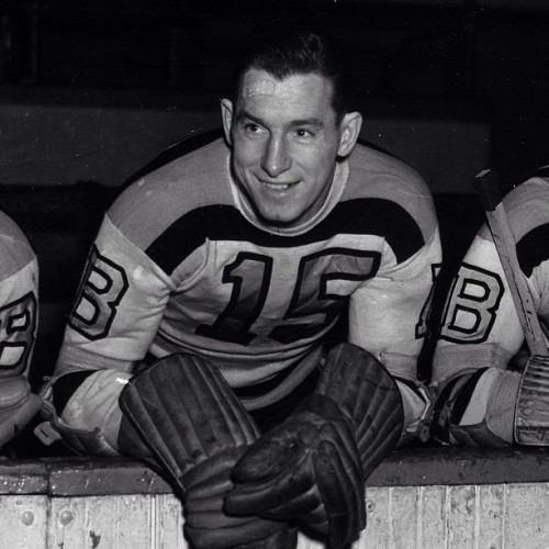 Happy 95th birthday to legendary Bruin and Hall of Famer Milt Schmidt! #nhlbruins