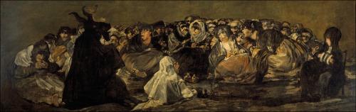 El Aquelarre - Francisco Goya