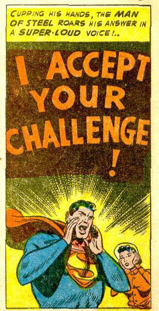 calamityjon:  COME AT ME, BRO. Action Comics 165 - February 1952