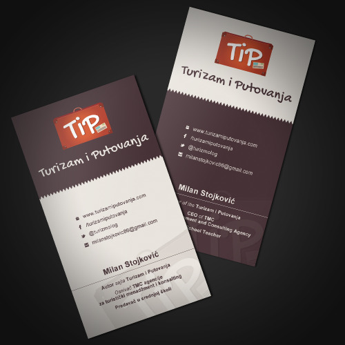 Design by @markizbeatzBusiness cards design for http://www.turizamiputovanja.com/