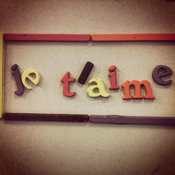 #je #t'aime #love #laugh #live #iloveinstagram