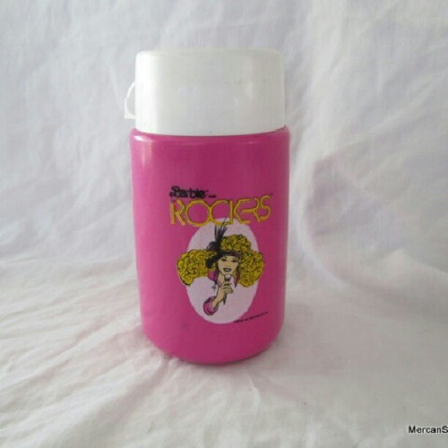 #vintage #80s #Barbie and the rockers thermos up in my shop http://etsy.me/LhWidb