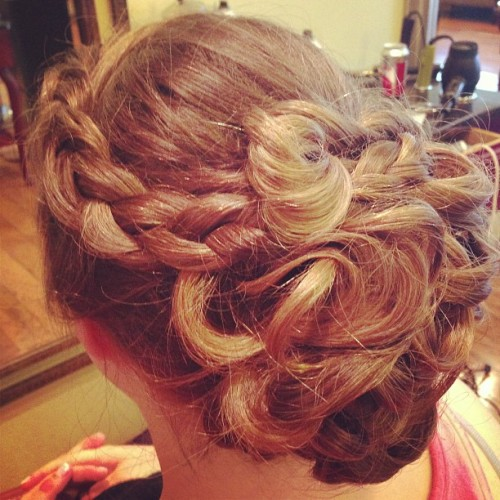 Let the Prom season begin @utopia_salon #prom #lovewhatido #hairdid #updo #fancy