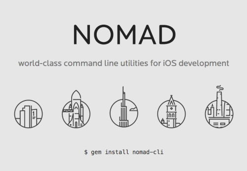 nomad :: world-class command line utilities for iOS development