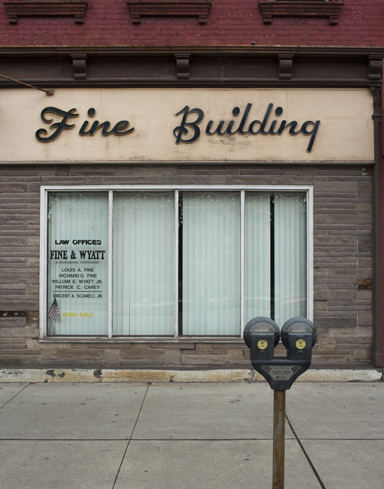 Fine Building / Honesdale, Pennsylvania 2008
