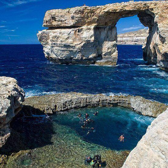 niick4:  Azure Window, Malta.
